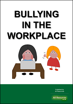 [Resource Pack cover image] Bullying in the Workplace