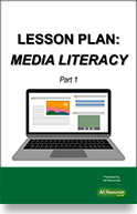 [Lesson Plan thumbnail] Media Literacy —  Part 1